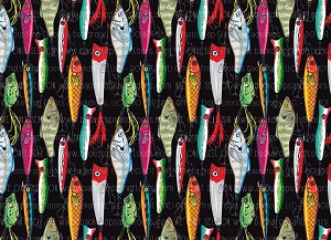 Gone Fishin 14 (Horizontal Design)