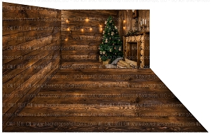 Holiday 1280 (Backdrop: 8x10 Fleece Material) Wood Floor 1240 (Floor: 8x10 Non-Skid Floormat) Wood Floor 1240 (Right Wall: 8x8 Fleece Material)