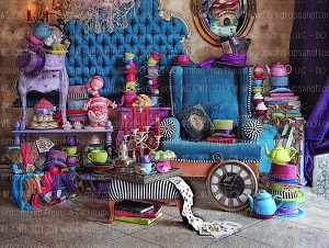 Mad Hatter At Home 1 - 80x60 (Horizontal Design)