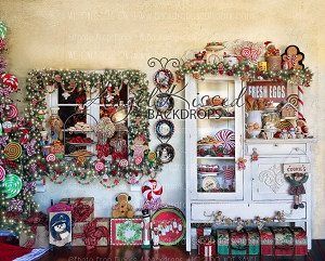 Mrs Claus Kitchen 2 - 10x8 (Horizontal Design)