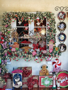 Mrs Claus Kitchen 4 - 60x80  (Vertical Design)