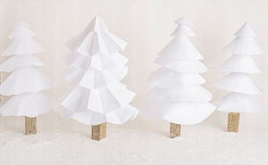 Paper Trees 2 (Horizontal Design)