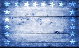 Patriotic 3 (Horizontal Design)