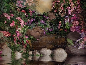 Secret Garden 1 - 80x60 (Horizontal Design)