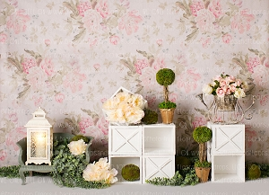 40% OFF SALE: Shabby Chic Spring 1 (Horizontal Design)