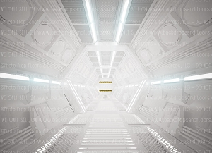 Spaceship 3 (Horizontal Design)
