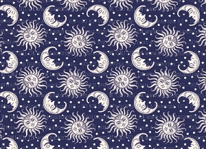 Sun Moons and Stars 1 (Horizontal Design)