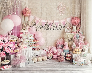 A Babycake Birthday 4 - 10x8 (Horizontal Design)