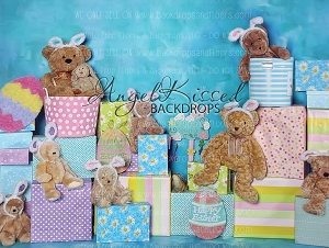 A Beary Hoppy Easter 3 - 80x60 (Horizontal Design)