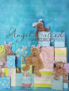 A Beary Hoppy Easter 5 - 60x80 (Vertical Design)