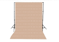 Almond Solid Color Seamless Matte Finish Fabric Photography Backdrop