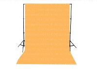Apricot Solid Color Seamless Matte Finish Fabric Photography Backdrop