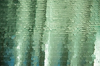 Large Aqua Blue Fabric Photography Backdrop (.5 Inch Sequins)