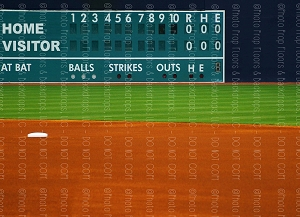 Baseball 2 (Horizontal Design)