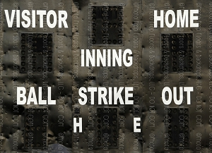 Baseball 4 (Horizontal Design)