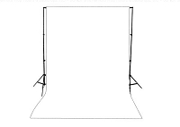Bright White Solid Color Seamless Matte Finish Fabric Photography Backdrop