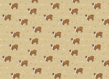 Bulldog Print 11 (Horizontal Design)