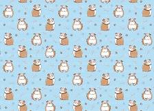 Bulldog Print 12 (Horizontal Design)