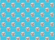 Bulldog Print 14 (Horizontal Design)