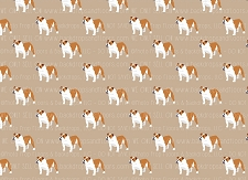 Bulldog Print 2 (Horizontal Design)