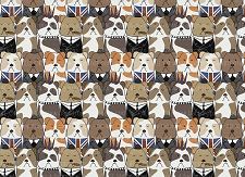 Bulldog Print 3 (Horizontal Design)