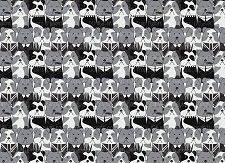 Bulldog Print 4 (Horizontal Design)