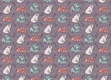 Bulldog Print 5 (Horizontal Design)