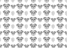 Bulldog Print 6 (Horizontal Design)