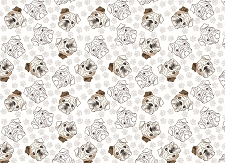 Bulldog Print 8 (Horizontal Design)