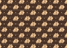 Bulldog Print 9 (Horizontal Design)