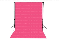 Candy Pink Solid Color Seamless Matte Finish Fabric Photography Backdrop