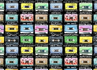 Cassette Tapes 2 (Horizontal Design)