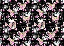 Cat Print 1 (Horizontal Design)