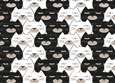 Cat Print 4 (Horizontal Design)