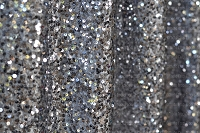 Charcoal Gray Shimmery Sequin Fabric Photography Backdrop