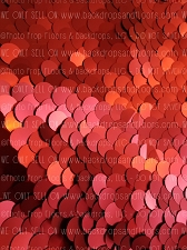 Large Cherry Red Fabric Photography Backdrop