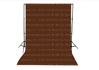 Coffee Brown Solid Color Seamless Matte Finish Fabric Photography Backdrop