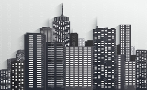 Cityscape 12 (Defects) Poly Paper - 60