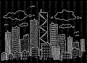 Cityscape 18 (Horizontal Design)