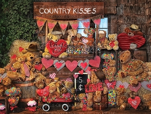 Country Kisses 1 - 80x60  (Horizontal Design)