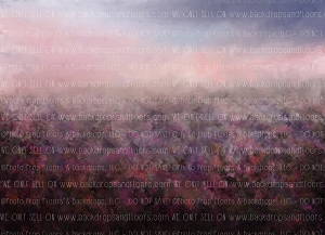 Painterly Heather Meadow (Horizontal Design)