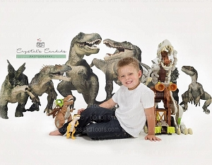Dinosaurs 5 (Horizontal Design)