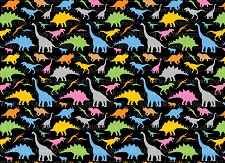 Dinosaurs 13 (Horizontal Design)