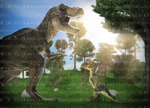 Dinosaurs 9 (Horizontal Design)
