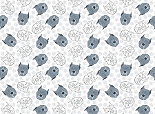 Dog Print 14 (Horizontal Design)