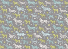 Dog Print 1 (Horizontal Design)