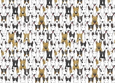 Dog Print 5 (Horizontal Design)