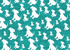 Dog Print 7 (Horizontal Design)