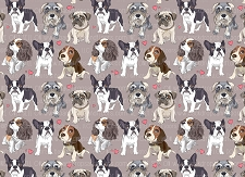 Dog Print 9 (Horizontal Design)