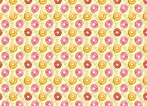 Donuts 4 (Horizontal Design)